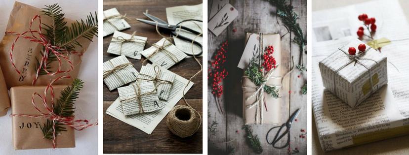 3 tipy, jak zabalit vánoční dárky na poslední chvíli