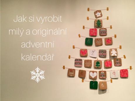 Jak si vyrobit milý a originální adventní kalendář